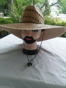 17 x17 ''Gardener Straw Sun Hat, Medium Brim , Sombrero de P