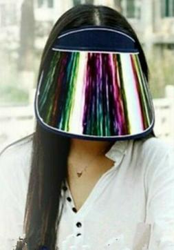 2020 Fashion Women Lady Girls Sun protective Cap hat with mi