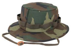 Booniehat Woodland Camo Sun Jungle Boonie Hat Camouflage Rot