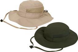 Lightweight Adjustable Mesh Boonie Hat Sun Summer Booney Tan
