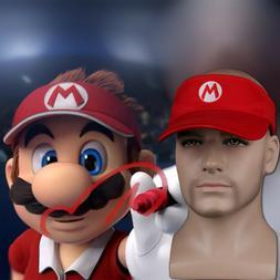 Mario Tennis Cap Ace Mario Tennis Cap Mario Adjustable Sun V