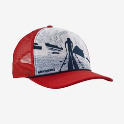 Patagonia Men's Breaking Trail Interstate Hat Red Fire High