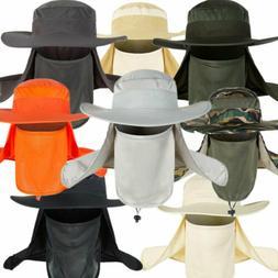 Men Women Fishing Camping Hiking Mask Cap 360 ° UV Sun Prot