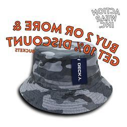 DECKY 450 MENS CASUAL BUCKET HATS ACTIVE SAFARI OUTDOOR HAT