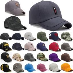Mens Womens Baseball Caps Adjustable Sports Golf Fashion Hip