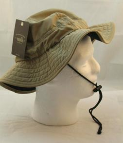 New G.H. BASS & CO. Khaki Sun Fishing Hat Men's OS RETAIL $2