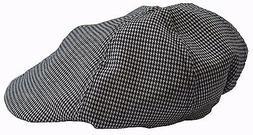Masraze Newsboy Checks Gatsby Cap Men Ivy Hat Golf Driving S