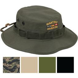 Vietnam Vet Military Boonie Hat Veteran Sun Shade Bush Army